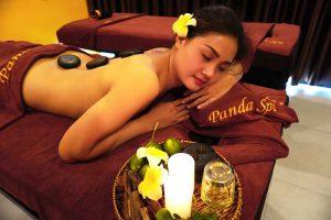 massage đá nóng phổ biến