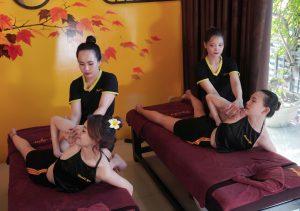 Massage tại Panda Spa đà nẵng